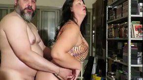 Xxl senzual cu un cuplu de grasi ce fac sex pasional