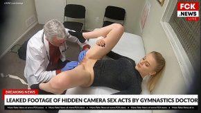 Blonda la ginecolog se fute ca o nesatula pana sangereaza