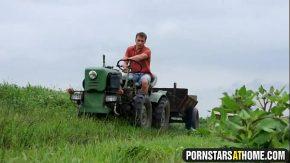 Muncitori din agricultura satisfacuti pe camp de 6 fete